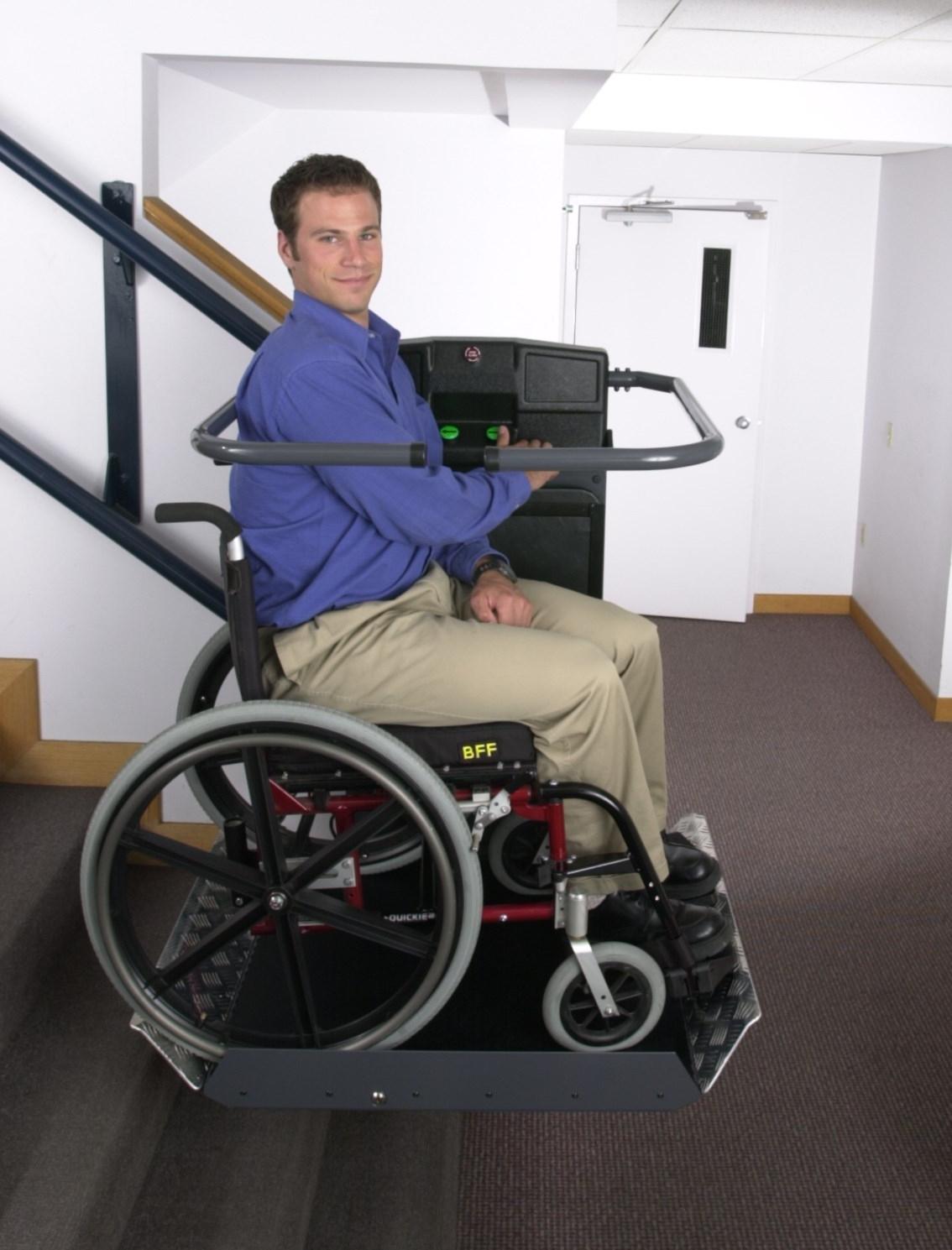 Montascale per disabili che si adattano alla tua ...